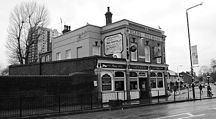 The Cart and Horses Pub, located in Maryland Point, Stratford, was where Iron Maiden played some of their first shows in 1976. Cartandhorses.jpg