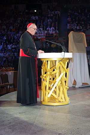 Pope Francis - Bergoglio on 18 June 2008 giving a catechesis