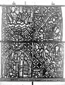 Cathédrale - Vitrail, déambulatoire au nord, saint Julien l'Hospitalier, troisième panneau, en haut - Rouen - Médiathèque de l'architecture et du patrimoine - APMH00031349.jpg
