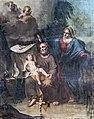 Cathédrale Saint-Just de Narbonne - Chapelle de Saint Joseph - Saint joseph, Marie et l'Enfant Jésus par Maurin.jpg