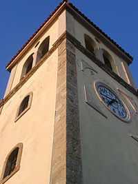 Cathedral tower in Preveza, Greece.jpg