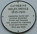 Catherine Helen Spence plate, Melrose.jpg
