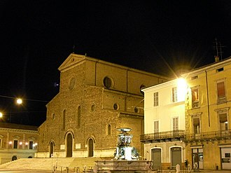 Faenza Cathedral - Faenza Cathedral, west front