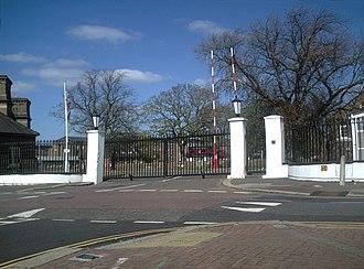Eastern Command (United Kingdom) - Cavalry Barracks, Hounslow, command headquarters from 1945 to 1954