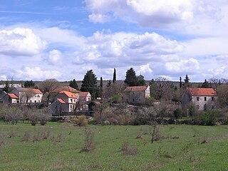 Mokro Polje Village in Šibenik-Knin County, Croatia