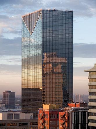 Centennial Tower (Atlanta) - Image: Centennial Tower Atlanta 1