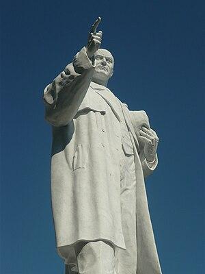 Metodija Andonov-Čento - Monument of Metodija Andonov-Čento on Macedonia Square in Skopje