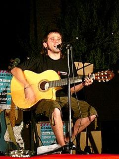 Spanish singer-songwriter