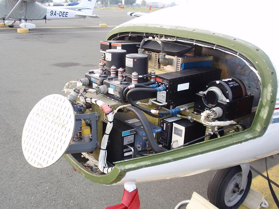 Cessna501 radar