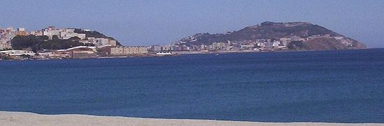 Ceuta, as photographed from Morocco.JPG