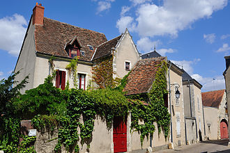 Indre - Image: Châteauroux rue des Pavillons 3