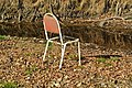 Chair in the middle of river Blanice - panoramio.jpg