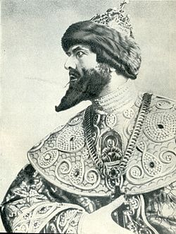 Chaliapin F. (Шаляпин Ф. И.) 1913 as Boris Godunov.jpg