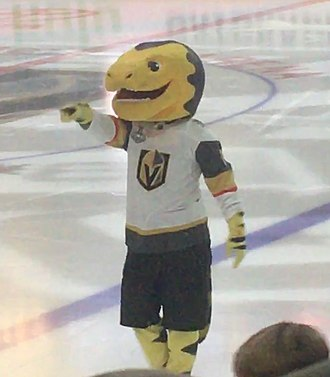 Vegas Golden Knights - The team's mascot is a Gila monster named Chance.