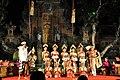 Chandrawati Ladies orchestra at Pura Taman Saraswat (16437940453).jpg