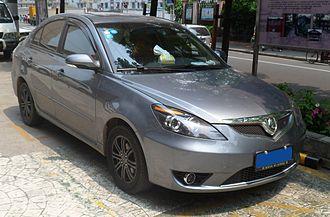 Changan Automobile - Image: Chang'an Alsvin sedan 01 China 2012 05 05