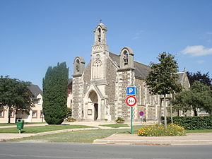 Le Molay-Littry - Mine chapel