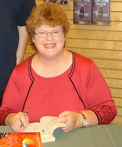 Picture of an author: Charlaine Harris