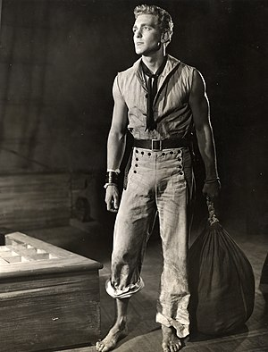 Billy Budd - A still from the Broadway production.