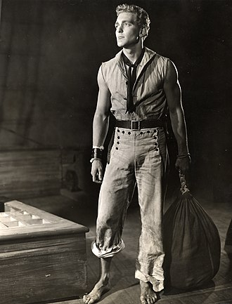 Charles Nolte - Nolte as the title character in the 1951 Broadway production of Billy Budd