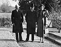 Charles M. Wilson and wife with Hal Boldero, (1950s?) Wellcome L0020167.jpg