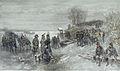 Charles Rochussen - Franse troepen trekken over een bevroren rivier.jpg