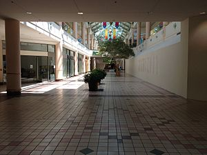 Charlestowne Mall - Charlestowne Mall in late May 2014, before construction for The Quad St. Charles