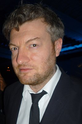Charlie Brooker bij de RTS awards 2011