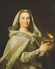 Portrait of Charlotta Sparre as a Vestal