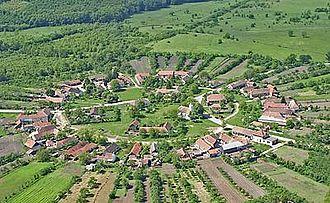 Bogda - Charlottenburg village, the only Rundling in the Banat region