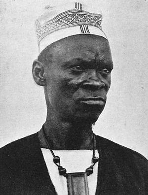 Baga people - Baga chief Koba in 1914.
