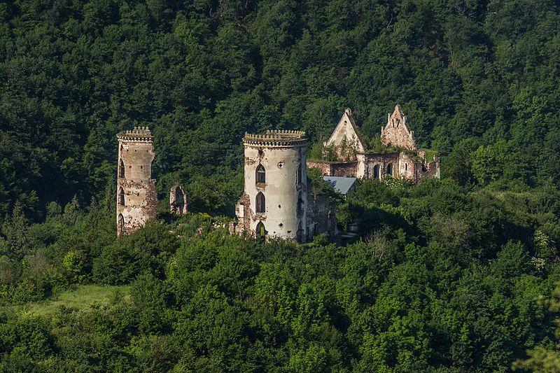 Червоногородський замок, загальний вигляд. Фото: GeneMrRoboto, CC BY-SA 4.0