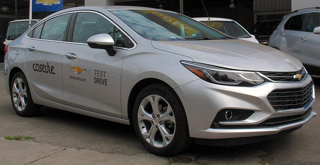 File Chevrolet Cruze 1 4t Ltz 2017 Jpg Wikimedia Commons