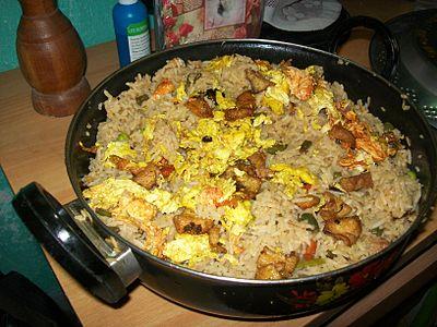 Chicken egg rice.JPG