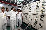 Chief Minister of Tamil Nadu Edappadi K. Palaniswami visiting INS Chennai during dedication ceremony.jpg