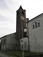 Chiesa della Beata Vergine Immacolata, campanile (Terradura, Due Carrare).jpg