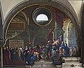 Chiesa di San Zaccaria Venezia - La visita pasquale del doge alla chiesa 1688.jpg