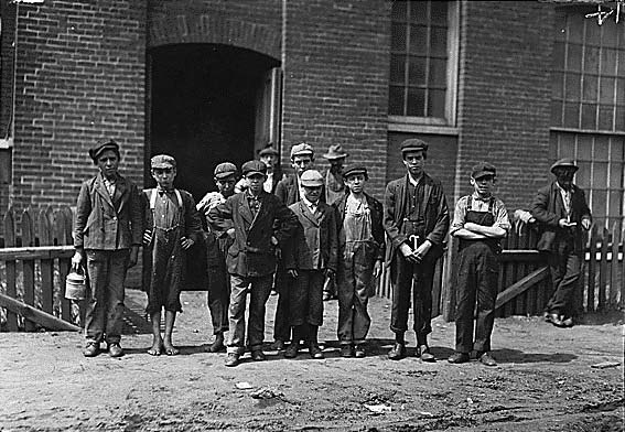 Child workers in Fall River, MA
