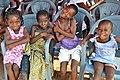 Children from Ghana attend a health fair with their families, 2012.jpg