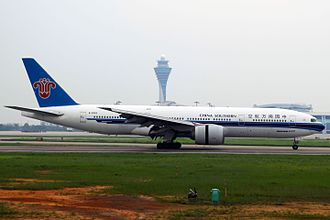 China Southern Airlines - A China Southern Airlines Boeing 777