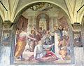 Chiostro grande di smn, lato ovest 13 benedetto veli, s. domenico resuscita un muratore, 1581-84.JPG