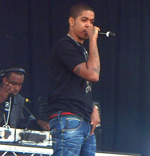 Chip (rapper) - Chip performing in 2011