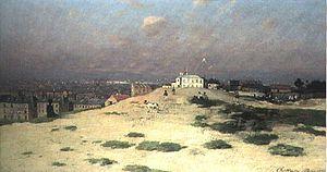 Antonín Chittussi - Parisian Suburb (1880s)