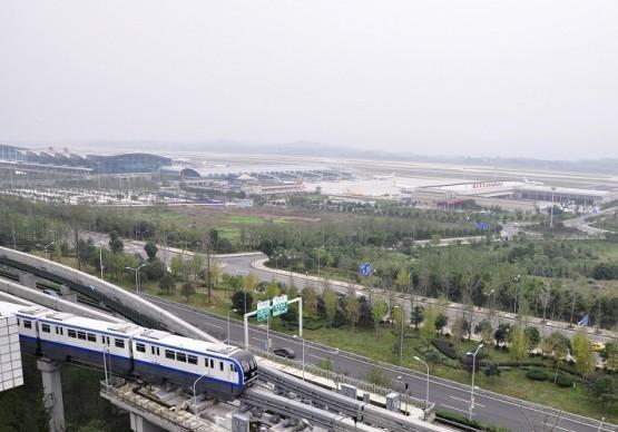 ChongqingMetroLine3 Departing