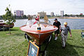 Chris Craft Cobra 1955 HeadOn LakeMirrorClassic 17Oct09 (14414119807).jpg