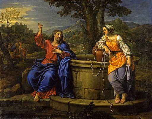 Christ and the Woman of Samaria - Pierre Mignard - Google Cultural Institute
