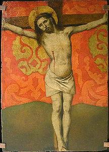 Christ en croix - Musée du Louvre - Barthélemy d'Eyck.jpg