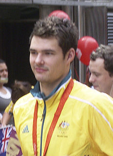 Christian Sprenger Australian swimmer, Olympic silver medallist, world champion, former world record-holder