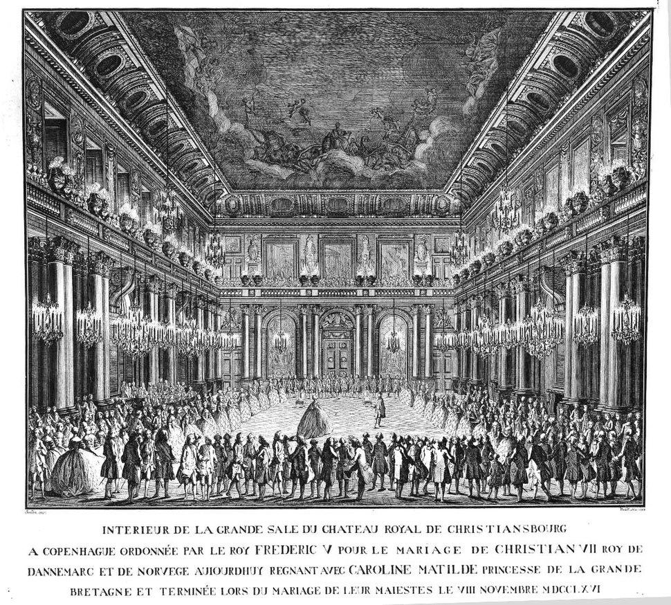 Christian VII and Caroline Mathilde - first dance