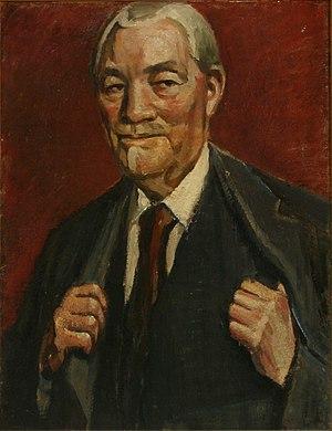 Poul Simon Christiansen - Poul S. Christiansen: Self-portrait